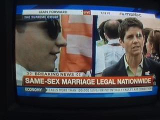 CNN screenshot - Marriage Equality