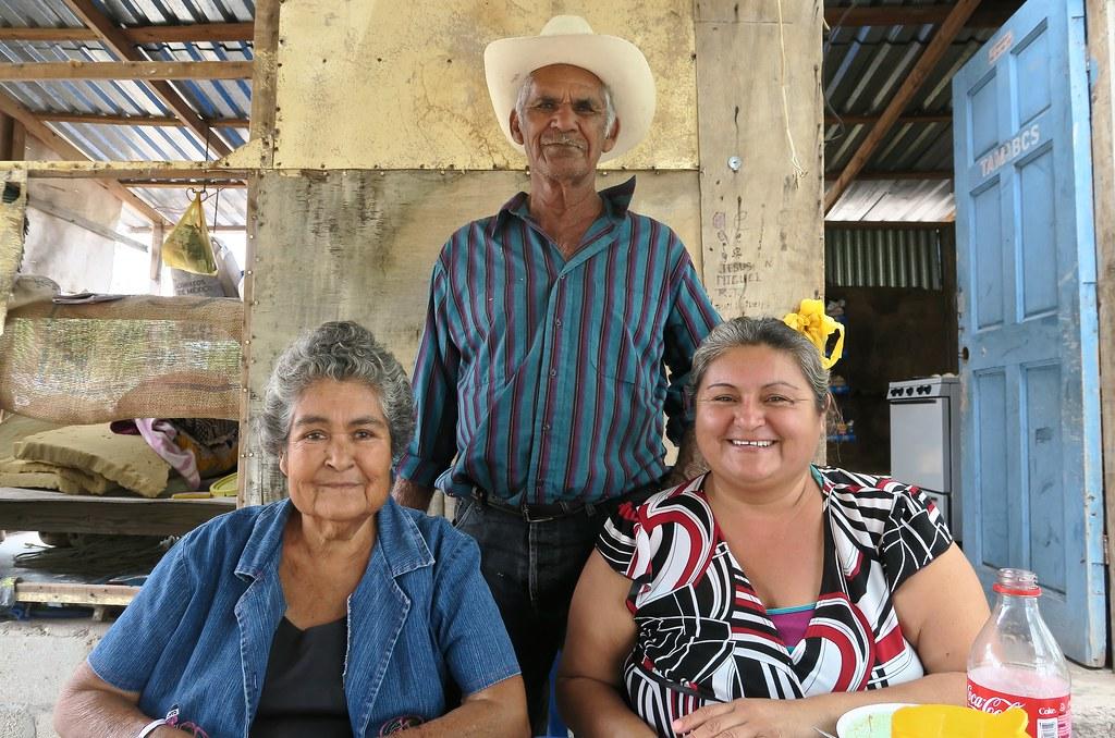 La família del Miguelito.