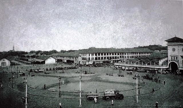 Chợ Bến Thành đầu thế kỷ XX