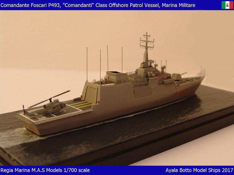 Foscari P493, Patrouilleur de la Classe Cigala Fulgosi 1/700 31211951943_01bdb00734_c