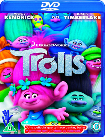 Trolls (2016)[DVD9][Castellano,Inglés, Hindi][MEGA]