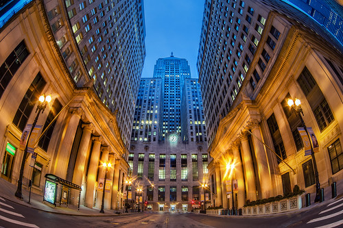 Chicago Board of Trade Fisheye | by ShutterRunner