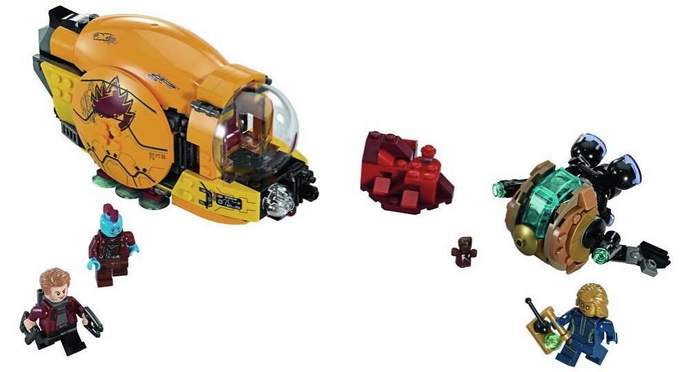 LEGO Marvel Super Heroes 76080 - Ayesha's Revenge