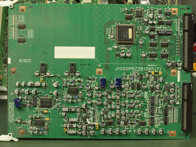 Panasonic WJ-MX1200 NLE Video Editor Teardown