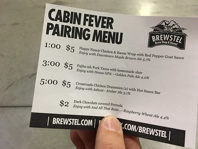 Cabin Fever craft Beer Festival
