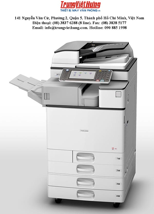 Cách để bảo dưỡng máy photocopy Ricoh MP3053