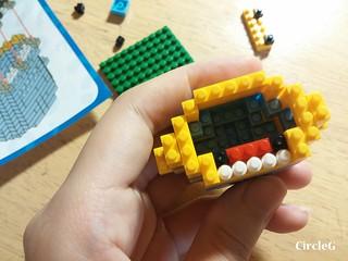 CIRCLEG MINIONS LOZ LEGO 微鑽積木 細過粒米阿 (6)