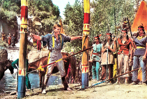 Hans von Borsody in Buffalo Bill, l'eroe del Far West (1965)