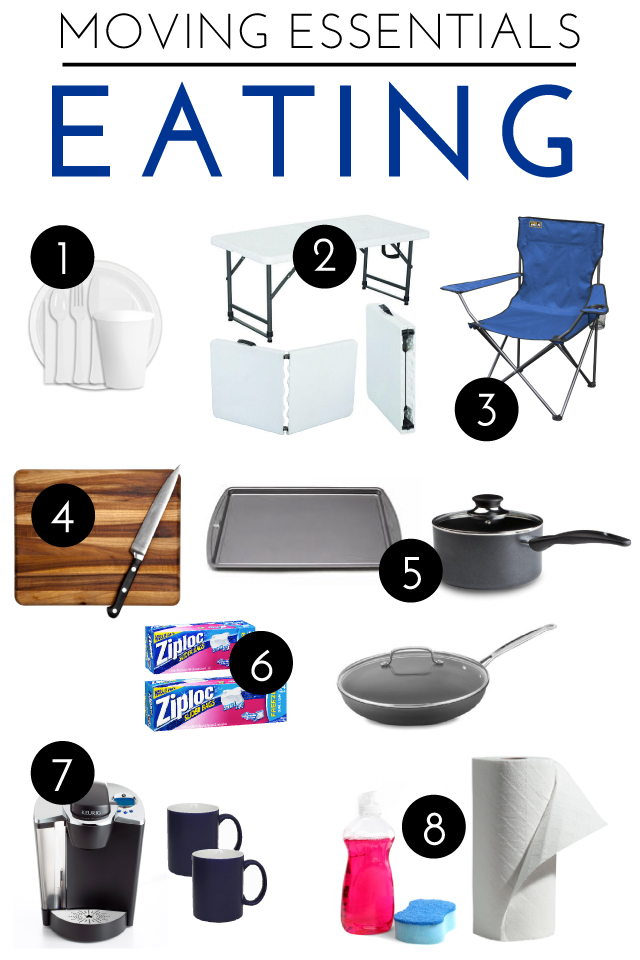 Moving Essentials | Eating