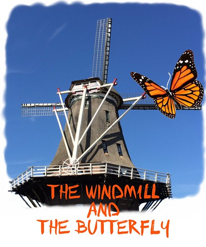 The windmill and the butterfly | by Ron Leunissen