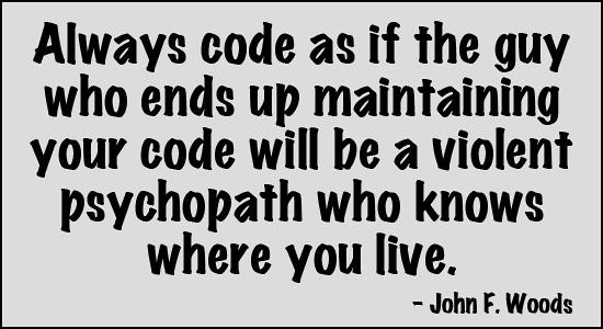 John F Woods Quote