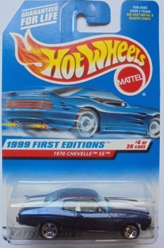 1999 Hot Wheels '70 Chevelle SS, 1999 First Editions 4/26