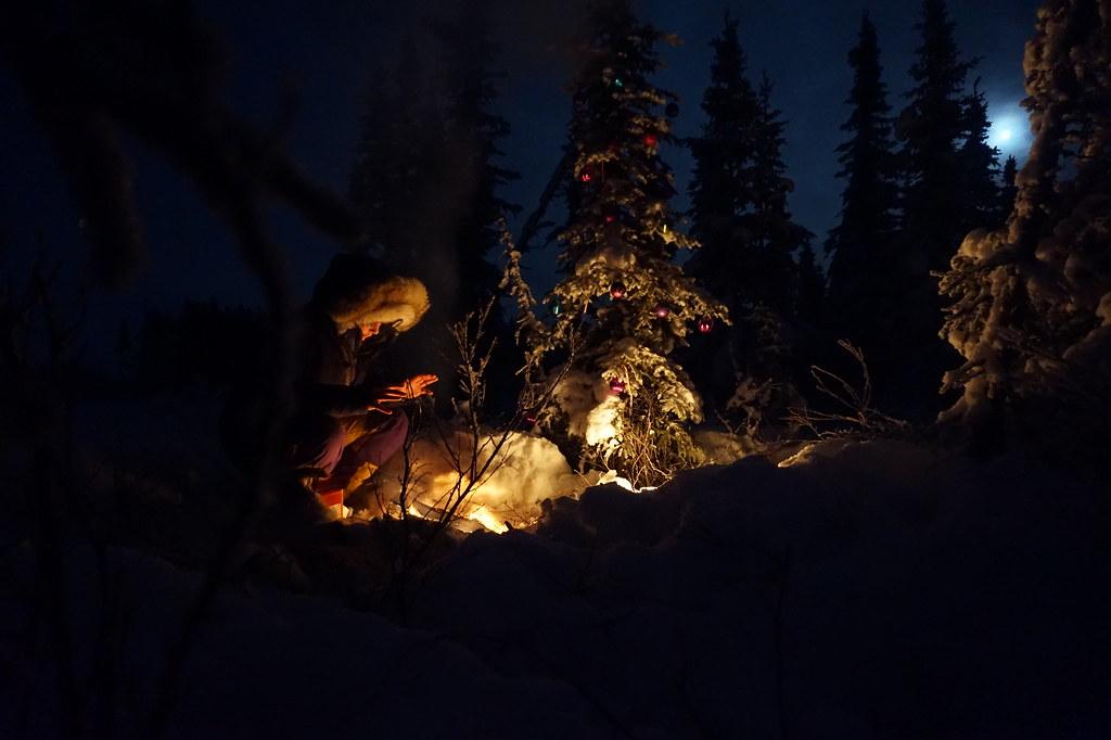 Monica Hundseid_Moa_Julafta for 2 år sidan i Alaska
