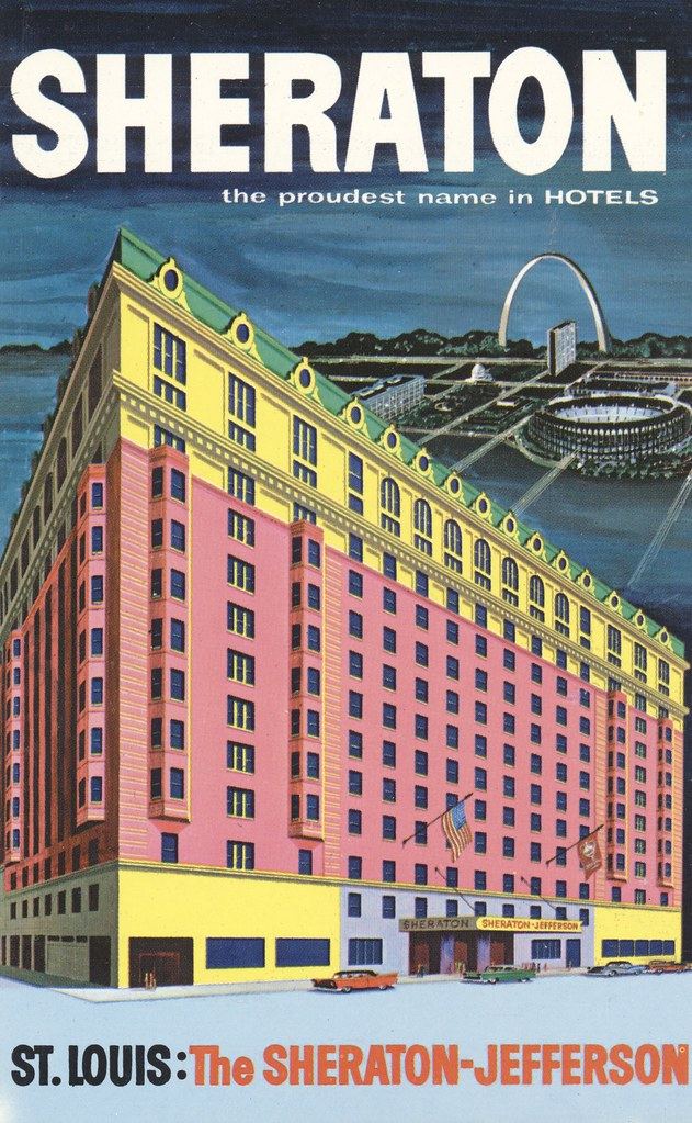 Sheraton-Jefferson - St. Louis, Missouri