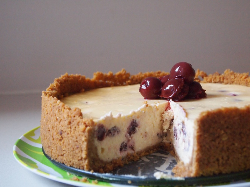 Morello Cherry Cheesecake