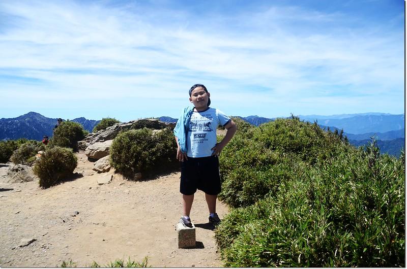 貝貝的第二座台灣百岳--合歡山
