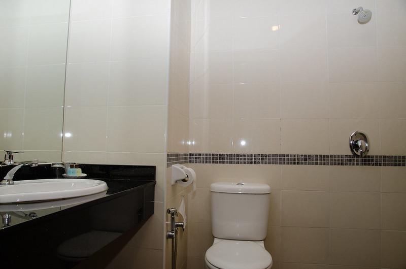 Washroom at Aroma Hotel Butterworth Penang, Malaysia