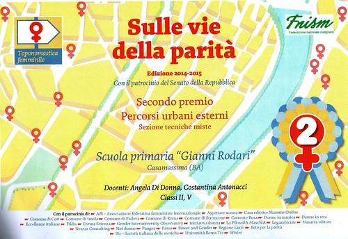 """Casamassima- La """"Rodari"""" """"Sulle vie della Parità"""" (2)"""