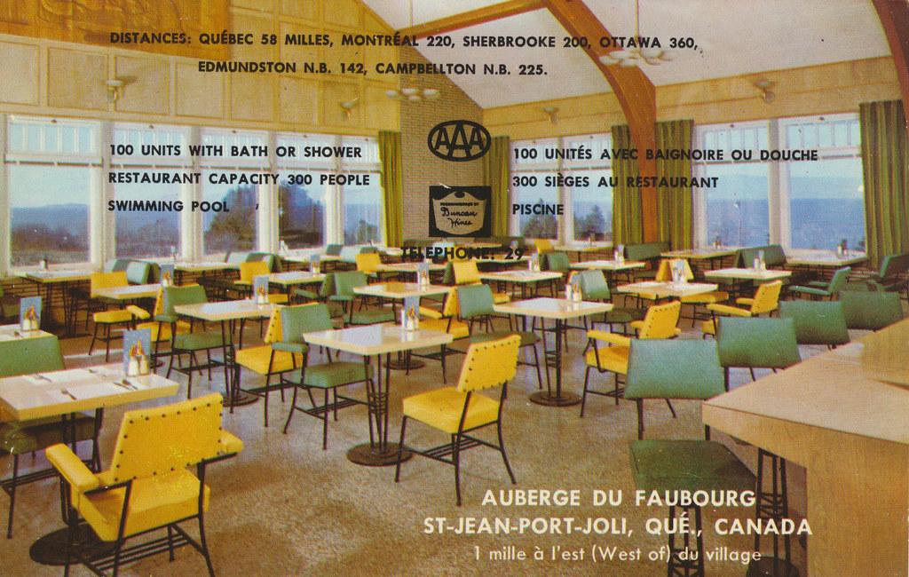 Auberge du Faubourg - St-Jean-Port-Joli, Quebec