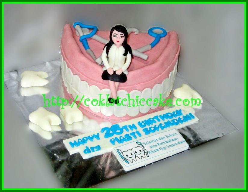 Cake Dokter Gigi Piasti Jual Kue Ulang Tahun
