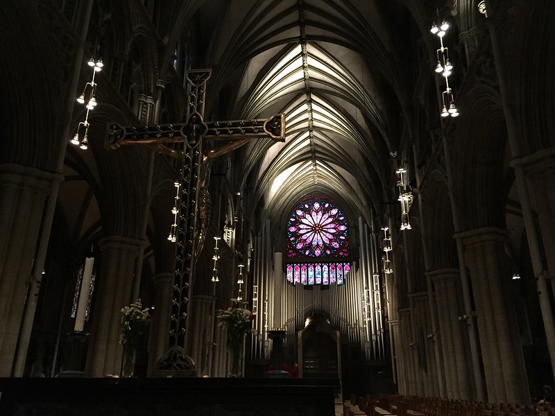 Inside Nidaros Cathedral