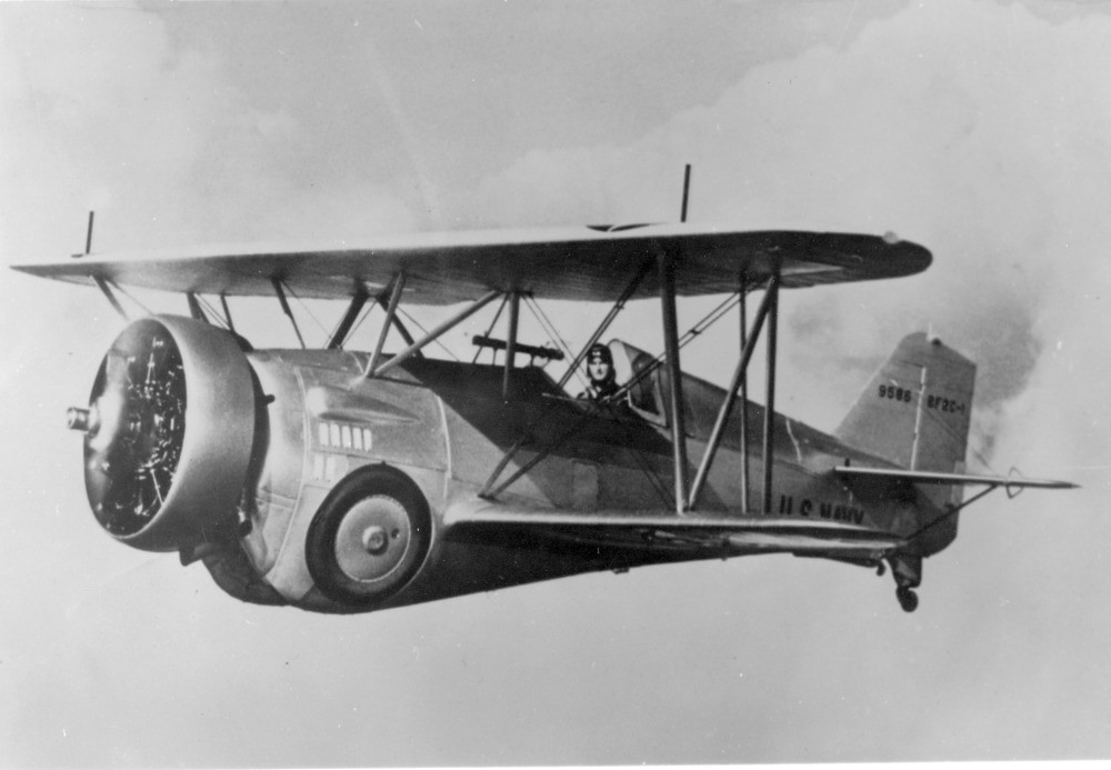 File Curtiss Bf2c 1 Jpg: Curtiss BF2C-1 First Flight Sept. 13, 1934
