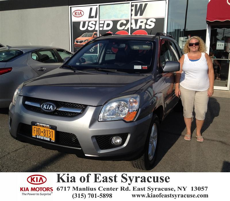 ... Congratulations To Alicia Butler On Your Kia Sportage From Michael  Secules At Kia Of East Syracuse