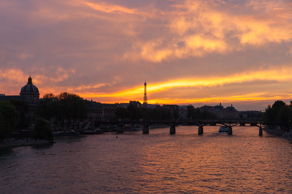 Typical Sunset in Paris