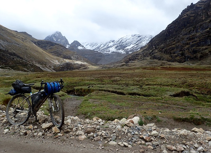 Hacia Churín (4.200 metros).