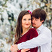 Snowy Winter Engagement Session