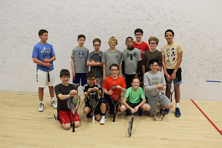 Penn Charter's boys middle school squash team. | by tedtee308