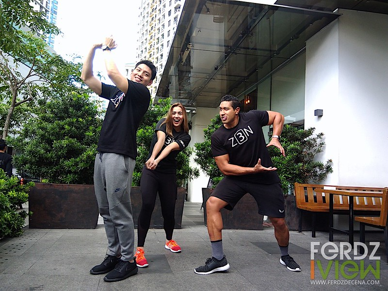 Jeron Teng, Michelle Gumabao and Eric Tai for Asus Max Challenge