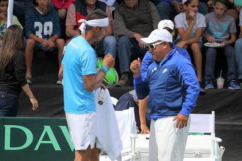 Día 3, Copa Davis Guatemala-México