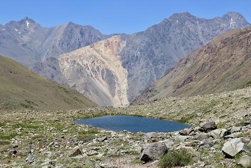 Laguna El Morado. Monumento Natural El Morado