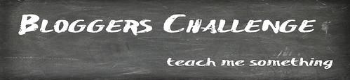 Bloggers Challenge - teach me something