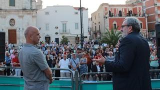 Michele Emiliano a Casamassima per Vito Cessa sindaco 2