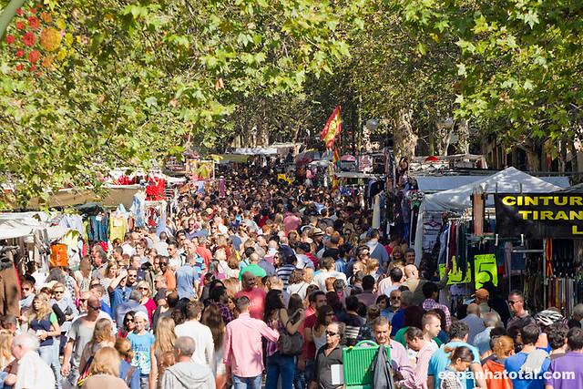 El Rastro, um domingo em Madri