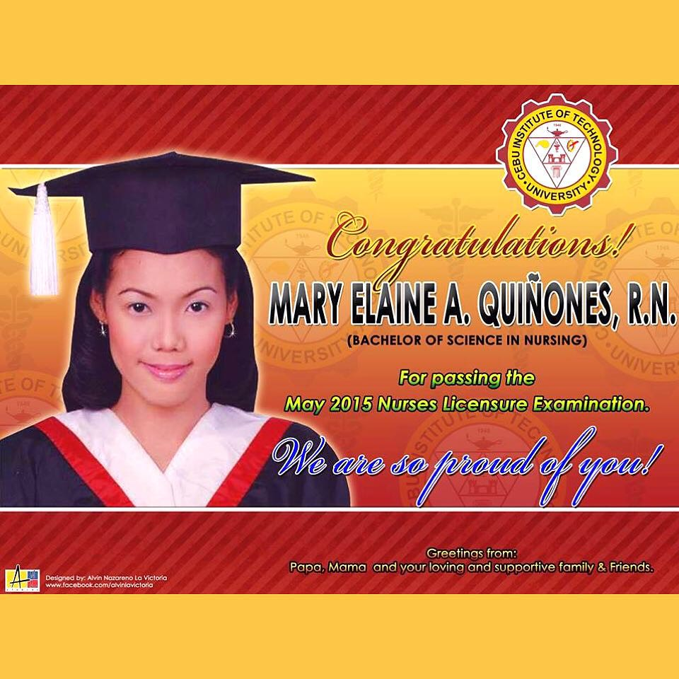 Tarpaulin Thank You Maam Elaine For Trusting ANL Studios Your Design