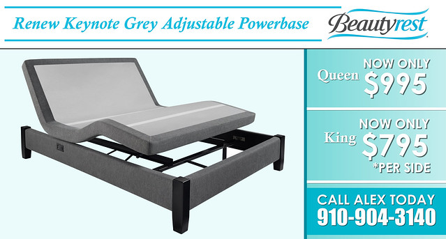 Renew Adjustable Base Beauty Rest