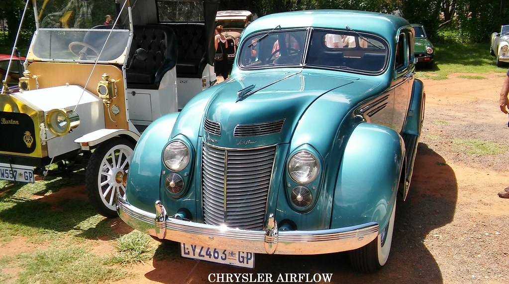 Chrysler 1937 Airflow at Vintage Veteran Club JHB 154   Flickr