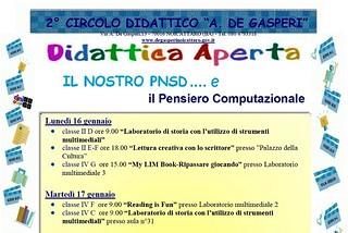 Noicattaro. Didattica Aperta De Gasperi front