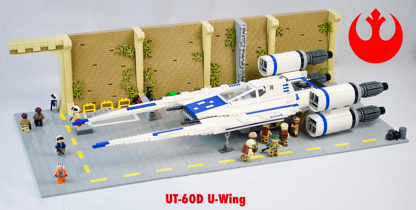 UT-60D U-Wing on Yavin 4