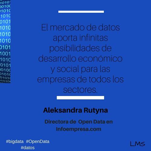 Las posibilidades del mercado de datos