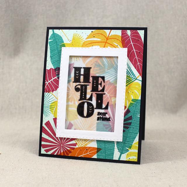 Hello Dear Friend Card
