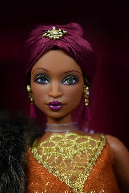 2016 Barbie Harlem Theatre Collection Madam Lavinia Barbie DGW46 (1)