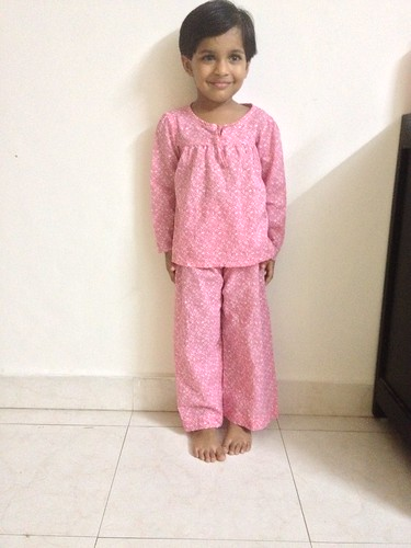 Sew-Ms H-Floral Pyjama Set