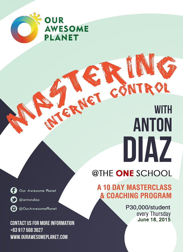 MASTERING INTERNET CONTROL: Influencer Master Class and Coaching Program with Anton Diaz (An Invitation)!