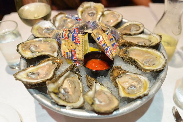 """Le Plateau"" Of Gulf Oysters"