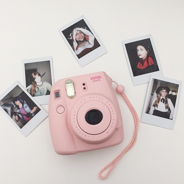 My Instax camera was a graduation gift! I brought it out for a spin at #Akon26, and it was so much fun. Definitely a new convention essential.