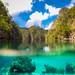 GoPro shot in Kayangan Lake, Coron, Palawan.